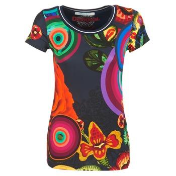 Vêtements Femme T-shirts manches courtes Desigual GRIZELLO Multicolore