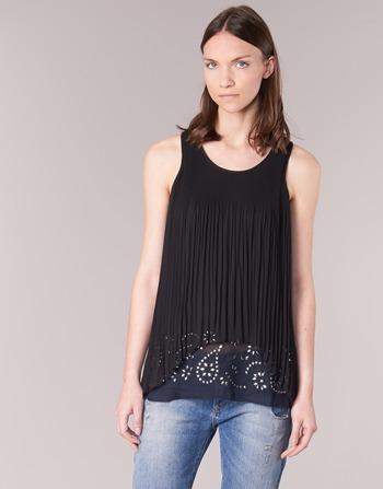 Vêtements Femme Tuniques Desigual TUDURIA Noir