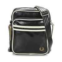 Sacs Homme Pochettes / Sacoches Fred Perry CLASSIC SIDE BAG Noir / Blanc