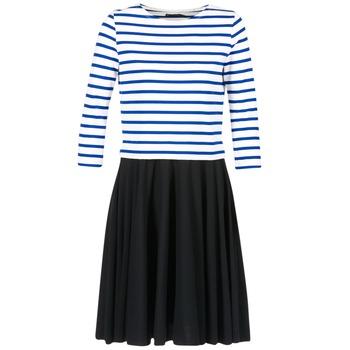 Vêtements Femme Robes courtes Petit Bateau FINALLY Blanc / Bleu