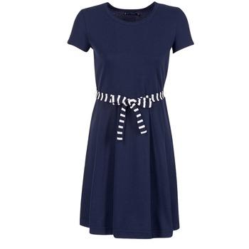 Vêtements Femme Robes courtes Petit Bateau FLARE Marine