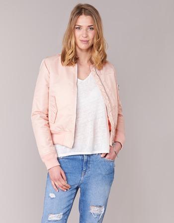 Vêtements Blousons Bomber Schott Femme Rose By drxWeCBo