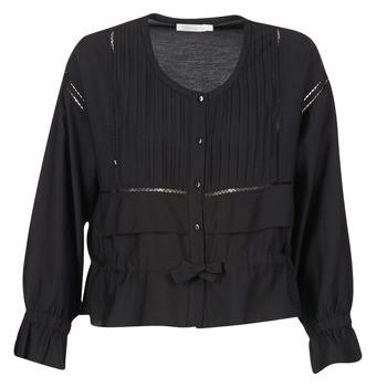 Vêtements Femme Tops / Blouses See U Soon 7113001 Noir