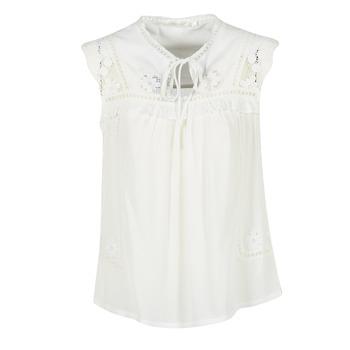 Vêtements Femme Tops / Blouses See U Soon 7116203 Blanc