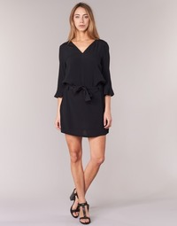 Vêtements Femme Robes courtes See U Soon 7121032 Noir
