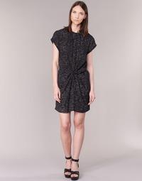Vêtements Femme Robes courtes See U Soon 7121114 Noir