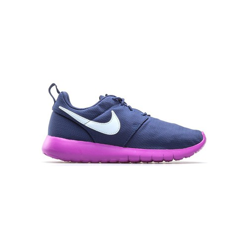 Baskets mode Nike Roshe One GS Bleu marine 350x350