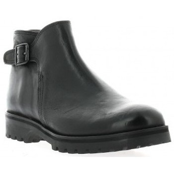 Chaussures Femme Boots Ambiance Boots cuir Noir