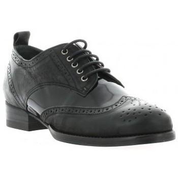 Chaussures Femme Derbies Ambiance Derby cuir vernis Noir