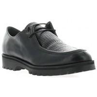 Chaussures Femme Derbies Ambiance Derby cuir Noir