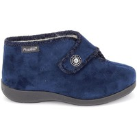 Chaussures Femme Chaussons Fargeot Caliope marine Bleu