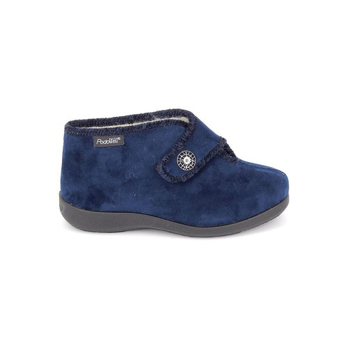 Pantoufles / Chaussons Fargeot Caliope marine Bleu Foncé 350x350