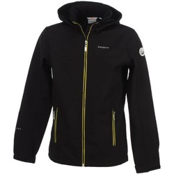Polaires Icepeak Remi black softshell jr