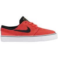 Chaussures Enfant Baskets basses Nike Stefan Janoski GS Kids Blanc-Orange-Noir