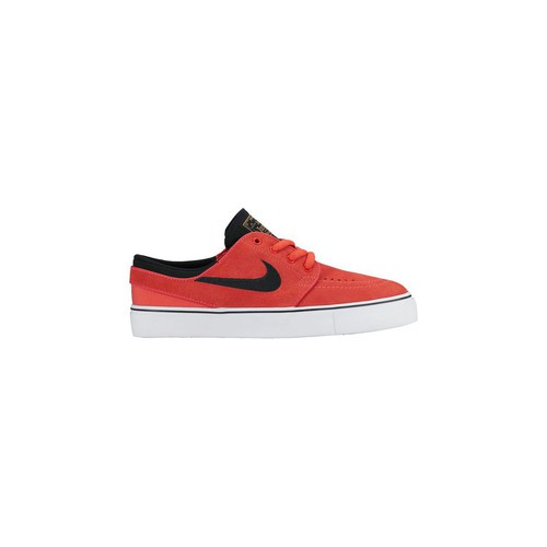 Baskets mode Nike Stefan Janoski GS Kids Blanc-Noir-Orange 350x350