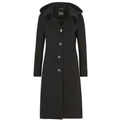 Vêtements Femme Doudounes De La Creme laine Cachmeier Manteau Black