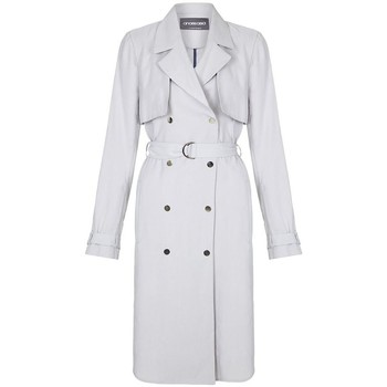 Vêtements Femme Trenchs Anastasia -Femme Trench Coat Grey