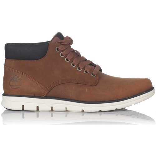 Chaussures Homme Baskets montantes Timberland CHUKKA LEATHER Marron