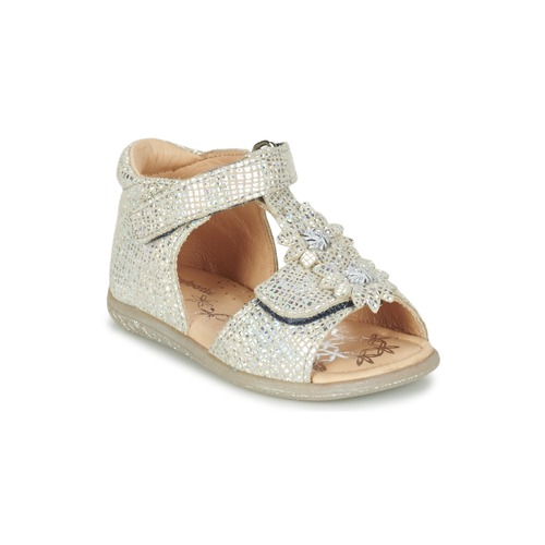 Chaussures Fille Sandales et Nu-pieds Babybotte TUTU Argenté