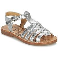 Chaussures Fille Sandales et Nu-pieds Babybotte YLONA Argenté