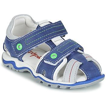Chaussures Garçon Sandales et Nu-pieds Babybotte KARTER Bleu / Vert / Gris