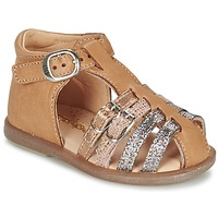 Chaussures Fille Ballerines / babies Babybotte TWIX Camel