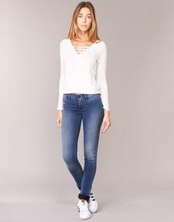 Vêtements Femme Jeans slim Diesel LIVIER Bleu 0679E