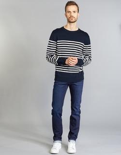 Vêtements Homme Jeans droit Diesel BUSTER Bleu 0860Z