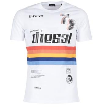 Vêtements Homme T-shirts manches courtes Diesel T JOE OB Blanc