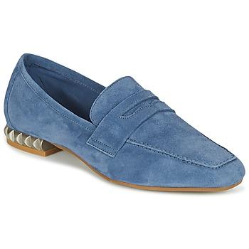 Chaussures Femme Mocassins Perlato KAMINA Bleu
