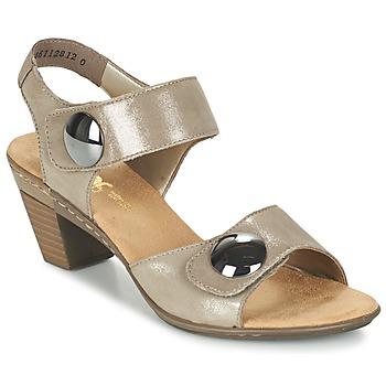 Chaussures Femme Sandales et Nu-pieds Rieker GERITEDO Gris