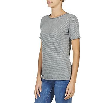shirts Attitude T Vêtements Gris Casual Courtes Femme Manches Genius OXZkPiu