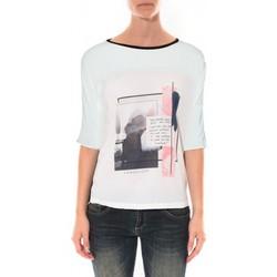 Vêtements Femme T-shirts & Polos Coquelicot Tee shirt   Blanc 16409 Blanc
