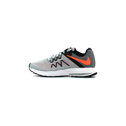 Chaussures Femme Running / trail Nike Wmns Zoom Winflo 3 Wolf Grey / Brillant Mango