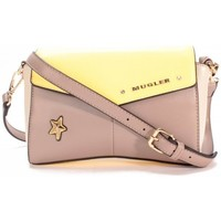Sacs Femme Sacs Thierry Mugler Sac Bandouliere  Angie 3 Taupe/Mastic/Citron Beige