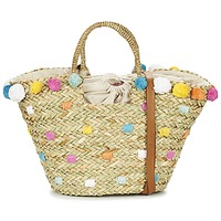 Sacs Femme Cabas / Sacs shopping Pepe jeans MARLEY Beige / Multicolore