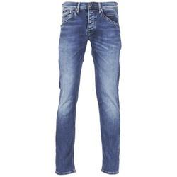 Vêtements Homme Jeans droit Pepe jeans TRACK Bleu N45