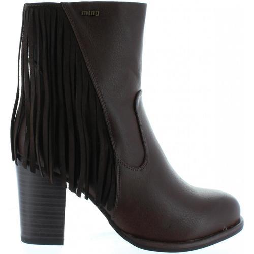 Bottines / Boots MTNG 52859 Marrón 350x350