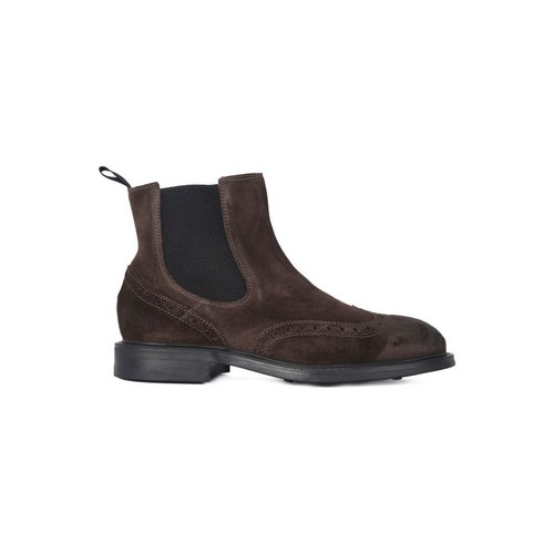 Chaussures Homme Boots Frau SUEDE CAFFE    118,1