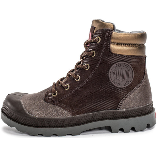 Bottines / Boots Palladium Wendy Enfant Marron 350x350