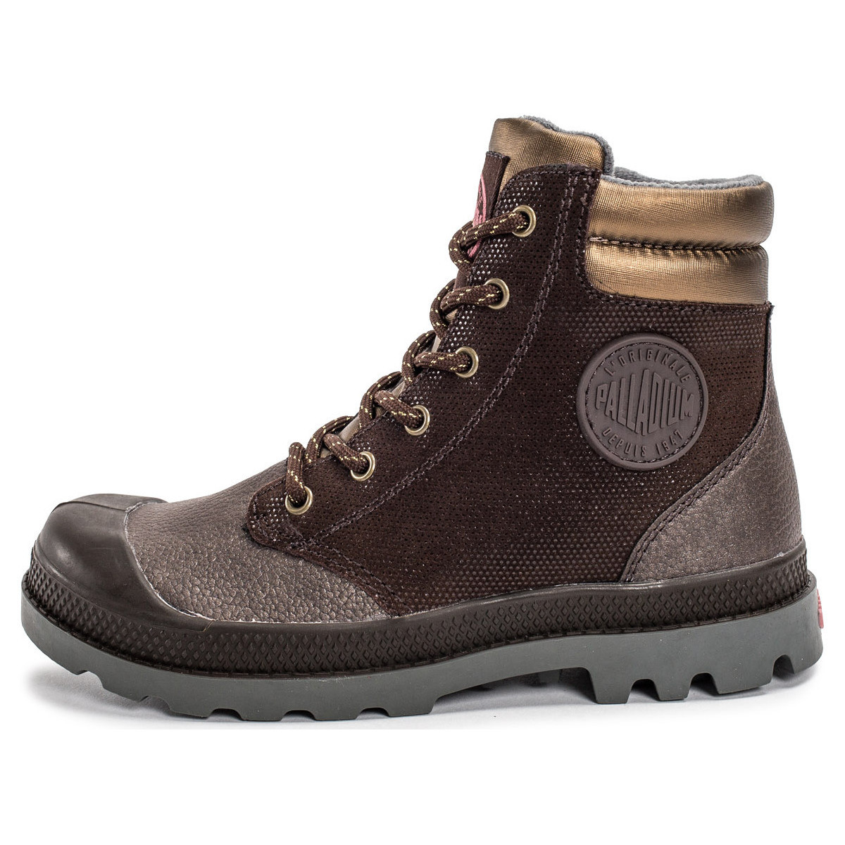 Palladium Wendy Enfant Marron