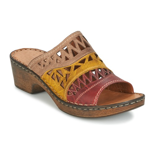 Chaussures Femme Mules Josef Seibel REBECCA 43 Multicolor
