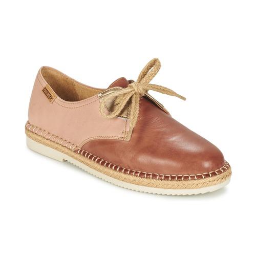 Chaussures Femme Derbies Pikolinos CADAMUNT W3K Marron