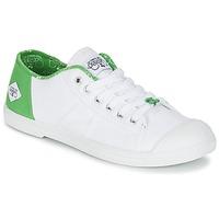Chaussures Femme Baskets basses Le Temps des Cerises BASIC 02 Blanc / Vert