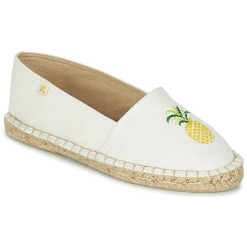 Chaussures Femme Espadrilles Le Temps des Cerises CANCUN Blanc