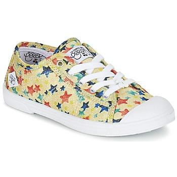 Chaussures Fille Baskets basses Le Temps des Cerises BASIC 02 Jaune