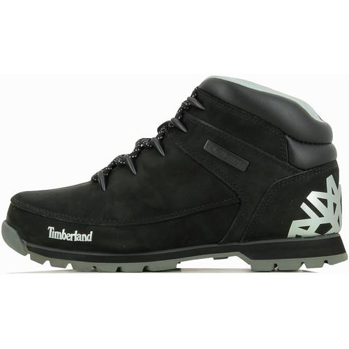 Chaussures Homme Boots Timberland Boots  Euro Sprint Hiker Mid - Ref. A18DM Noir