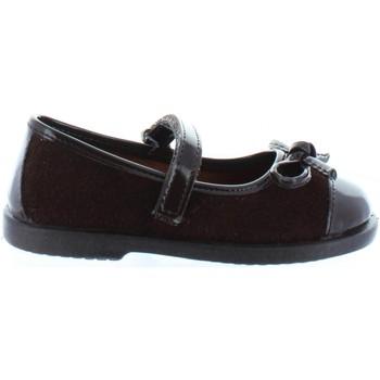 Chaussures Fille Ballerines / babies Garatti PR0064 Marr?n