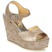 Chaussures Femme Sandales et Nu-pieds Myma  Taupe