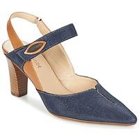 Chaussures Femme Escarpins France Mode PASTEL SE TA Marron / Bleu